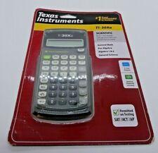 New Texas Instruments TI-30XA Battery Powered Scientific Calculator, Black/Grey