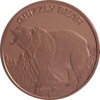 1 oz Copper Round Taurus