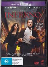 Inferno DVD Tom Hanks