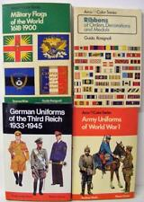4 ARCO COLOR SERIES BOOKS MILITARY ARMY UNIFORMS WWI GERMAN UNIFORMS WWII FLAGS