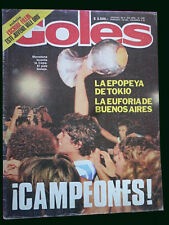 DIEGO MARADONA ARGENTINA CHAMPION Youngs World Cup 1979 Goles # 1602 Magazine