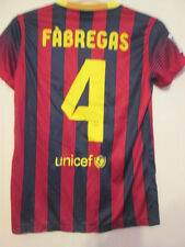 Barcelona 2013-2014 Game 4 Home Football Shirt Tamaño Mediano / Pequeña / 35295