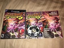 Super Mario Strikers Nintendo Gamecube Game 100% Complete Tested Plays