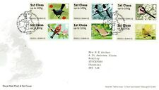 2011 POST & GO BIRDS OF BRITAIN 2ND SERIES FIRST DAY COVER LOT 1275C