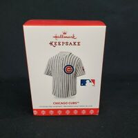 Chicago Cubs Jersey Hallmark Keepsake Christmas Ornament