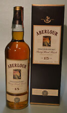 ABERLOUR 15 y.o. Sherry Wood Finish - Single Highland Malt Scotch Whisky