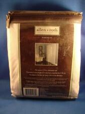 "Allen + Roth Anaheim Grommet Top Panel White 52"" x 84"" BRAND NEW #0351893"