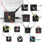 NUEVO DIY Movimiento con Agujas Cuarzo Reloj de Pared Plástico Metal Mecanismo