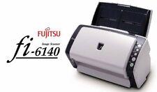 Fujitsu fi-6140 USB SCSI High Speed Color Desktop Document Scanner w/ Software