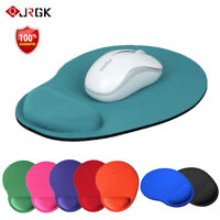 Anti-Slip Mouse Pad / Mouse Mat with Gel Wrist Support for PC Macbook Laptop A++