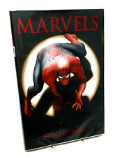 Marvel Comics ALEX ROSS MARVELS  Hardcover GRAPHIC NOVEL, Spiderman NICE!