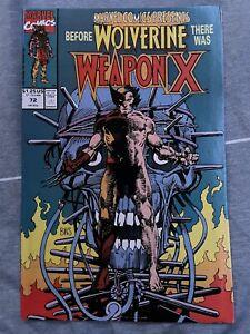 Marvel Comics Presents #72 ~ 1991 Marvel ~ Weapon X Origin HOT!