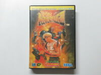 Bare knuckle III 3 / STREET OF RAGE 3 Sega Mega Drive / Genesis Game REG CARD