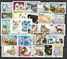 CATS and DOGS Collection Packet of 25 Different WORLD Stamps (Lot.2)