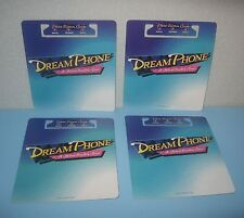 1996 Milton Bradley Dream Phone Game Replacement Parts Card Score Paper Holder