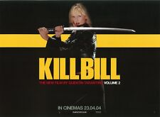 Kill Bill movie poster : Uma Thurman poster, Quentin Tarantino, Kill Bill 2
