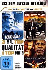 Retrograde, Reflections, Fists Of Revenge - 3 Movie Set - DVD..Dolph Lundgren..