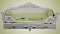 Queen's Treasures VICTORIAN TRUNDLE DAY BED W/ BEDDING American Girl Doll Bed