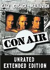 NEW SEALED = CON AIR star NICOLAS CAGE JOHN MALKOVICH = CERT 18 EXTENDED EDITION