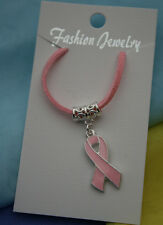 Pink Cancer Awareness Necklace