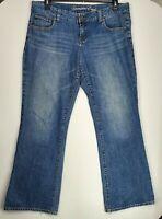 American Eagle Womens W38XL31 Medium Blue Wash Favorite Boyfriend Denim Jeans