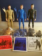 THREE MARX NOBLE KNIGHTS BLACK GOLD, AND BLUE. ALL ACCESS. NEW, REISSUE 2001