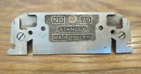 Vintage Stanley NO. 79 Rabbet Plane Woodworking Hand Tools Made in USA