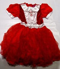 minnie mouse dress age 4 - 5  6  years DISNEY red EASTER COSTUME GIFT up
