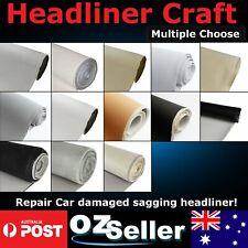 Damaged or Sagging Headliner Removal Headlining Cloth Foam Backed Vehicle/Marine