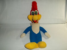 Vintage Woody Woodpecker Walter Lantz Stuffed Plush Pull String Talking Toy Doll