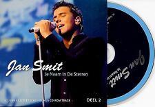 JAN SMIT - Je naam in de sterren (DEEL 2) CD SINGLE 4TR Enh CARDSLEEVE 2009