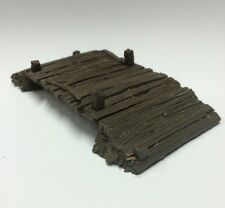 OLD TIMBER BRIDGE - 25/28mm(EX BZTB1)  NEW BATTLE ZONE TERRAINS