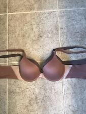 Spanx Pillow Cup Bra Size 34B Lot Of 2 Solid Dusty Mauve Underwires EUC