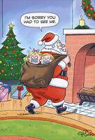 Santa Kidnap - Nobleworks Box of 12 Funny Christmas Cards