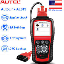 Autel AL619 Auto ABS SRS/Airbag Reset OBDII Code Reader Diagnostic Scanner Tool