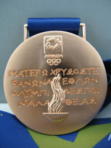 2004 Athens Olympic Bronze Medal with Silk Ribbons