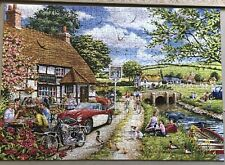 HOP Jigsaw puzzle 1000 piece Sunday Lunch Used & Completed