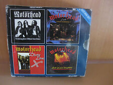 Motorhead (4 CD box set) Receiver Records 1993 CDs are mint, case wear/ vg shape