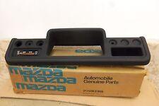 NOS GENUINE MAZDA BONGO E1300 1977- BLACK RHD DASHBOARD COVER # 1391-55-420