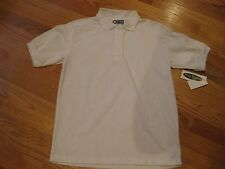 Pretty Plus Girls Official School Wear Polo To Shirt Sise 12.5 White