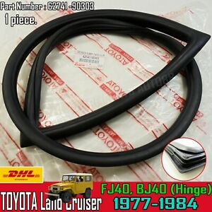 For Toyota Land Cruiser FJ40 BJ40 Weatherstrip Side Quarter Window Rubber Sealx1
