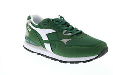 Diadora N.92 173169-70222 Mens Green Suede Lace Up Lifestyle Sneakers Shoes