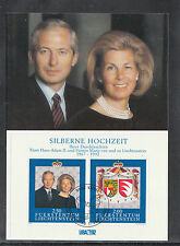 A-70) 2 Maxi Cards MC MK Liechtenstein - Royal Family of Liechtenstein