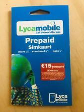 Lyca Prepaid NL aktiv mit €5 Guthaben - aktiviert & registriert: ohne ausweis !
