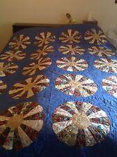 Dresden Plate Quilt, Queen Size