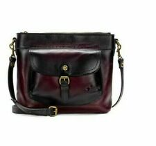 ebf4f21d4fe3 NWT Patricia Nash Tuscania STAINED MERLOT Structured Shoulder Bag msrp  $249.00