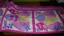 12 Yards One Price Vintage Barbie Fabric Panels Pillow Front and Back Squares