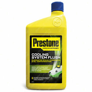 Prestone Cooling System Flush Eliminates Scale Corrosion & Oil Contamination 1L