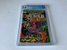 MARVEL SPECTACULAR 4 CGC 9.8 WHITE PAGES THOR REPRINTS 133 EGO COMICS 1973