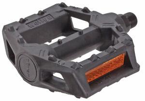 "Wellgo LU-205 BMX resin pedals, 1/2"" - black"